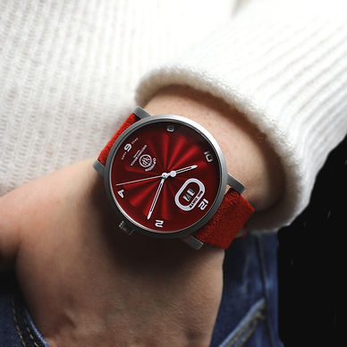 OPHION Red Stainless Steel