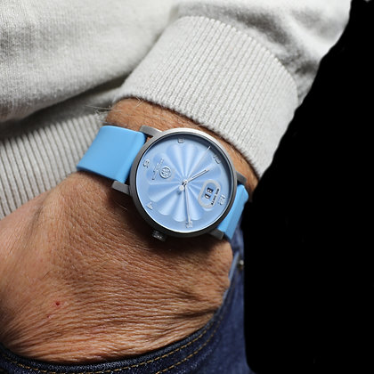 OPHION Light Blue Stainless Steel