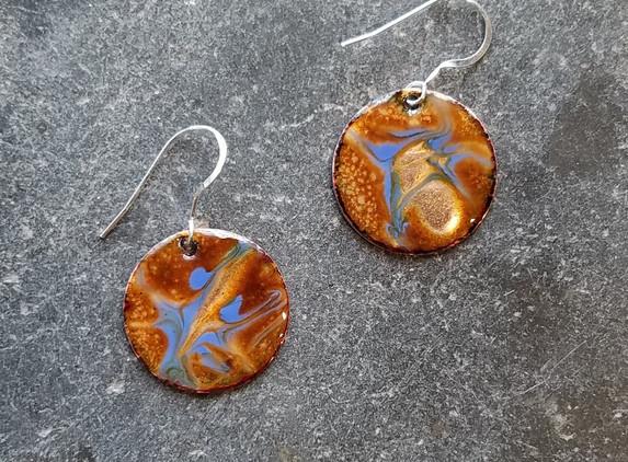 enamel-earrings