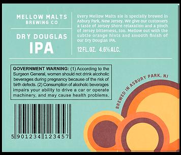 Dry Douglas Label