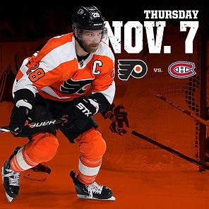 Flyersvs.Canadiens