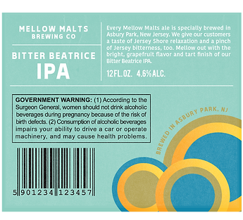 Bitter Beatrice Label