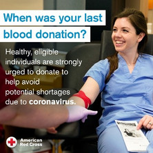 Blood donations are urgently needed.