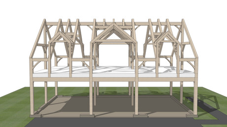 The Mirror Lake Timber Frame Carriage Ho