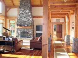 Vermont Home Design | Great Room