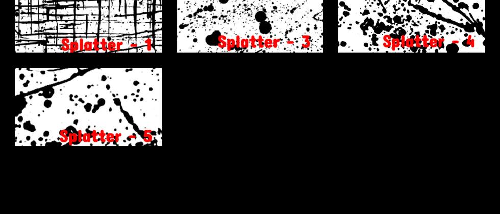 Splatter 1-5