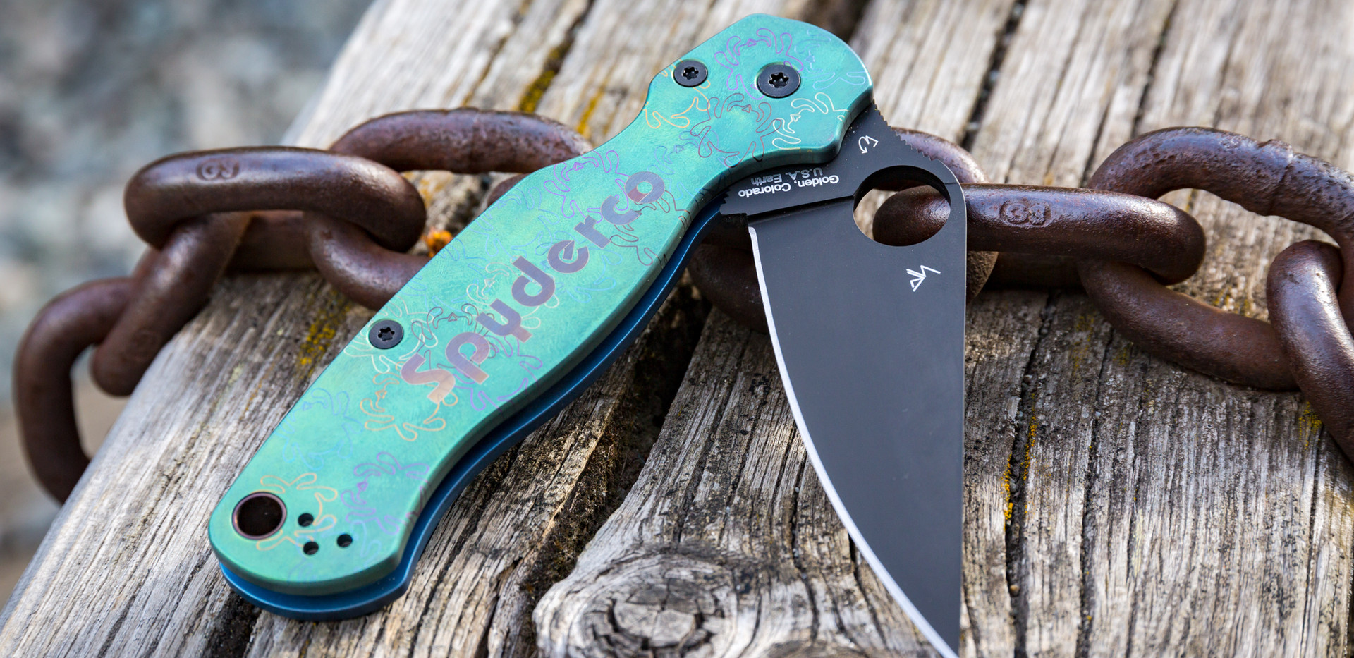 Custom Spyderco