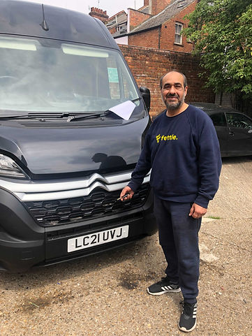 Collection & return bike repairs with a van