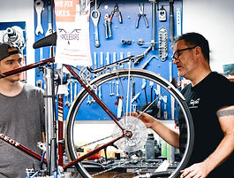 Handlebars-Repairs-Islington-Team-Workin