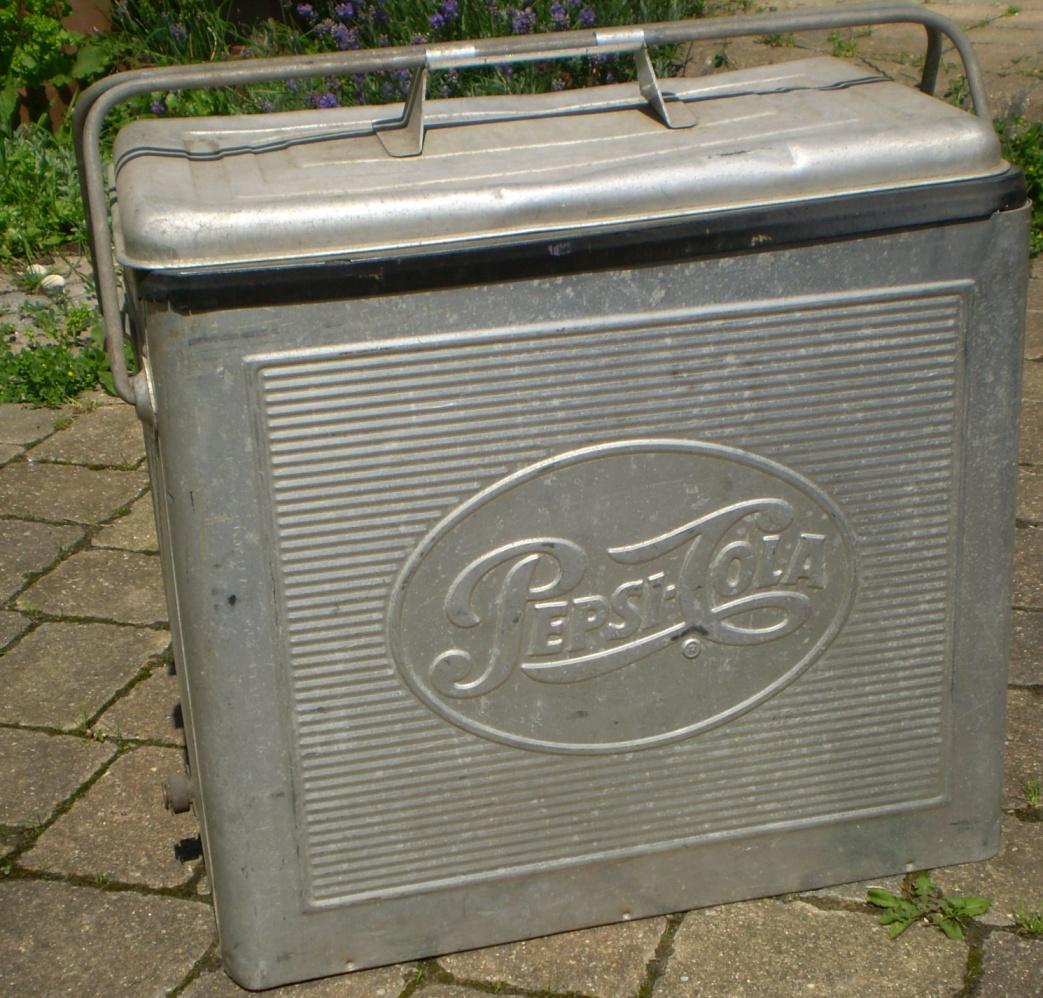 Vintage Pepsi Cola Cooler