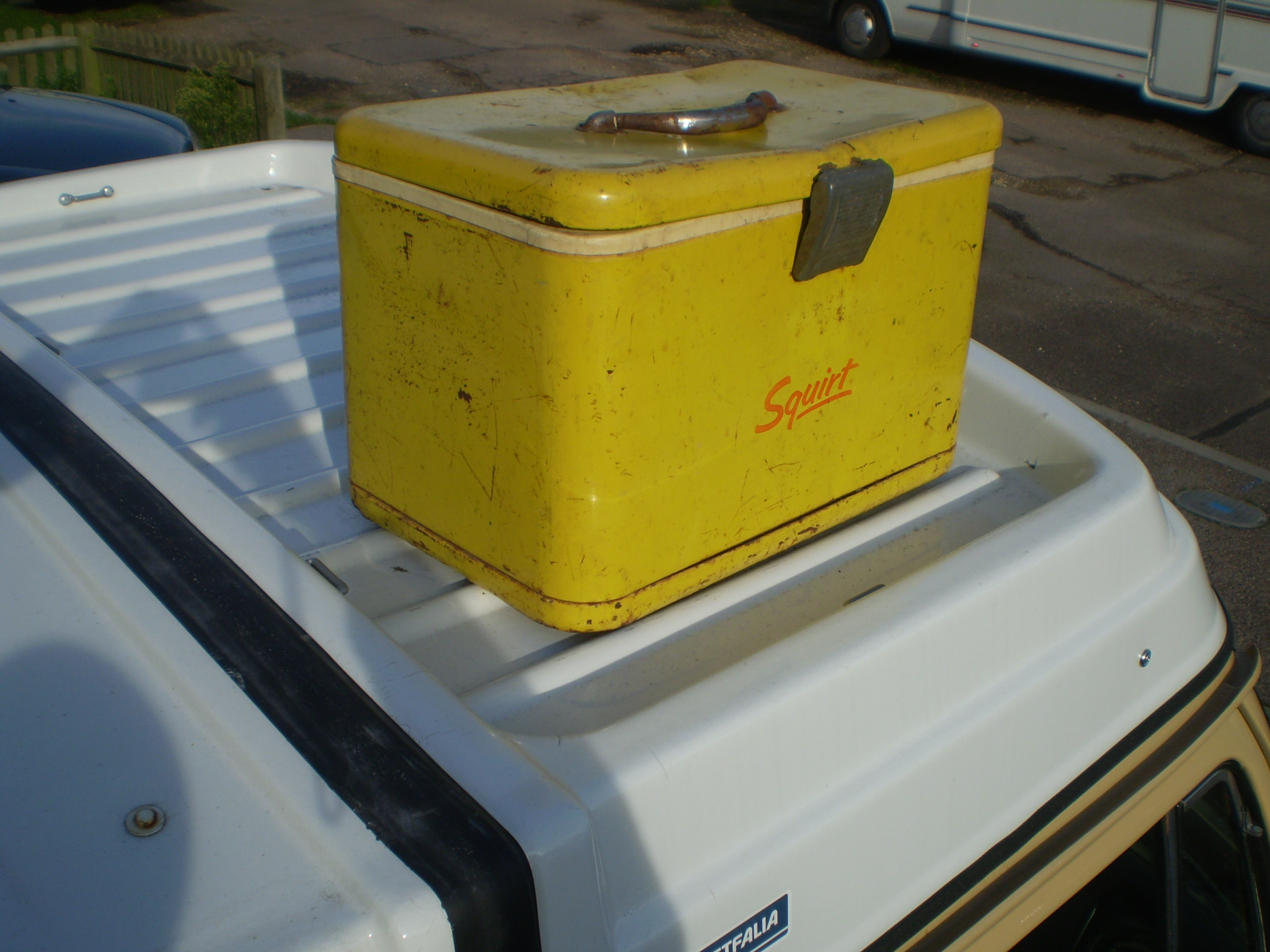 Coolbox ideal accessory for Roof rac