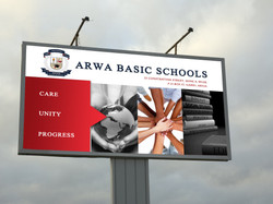 ARWA BILLBOARD MOCK UP
