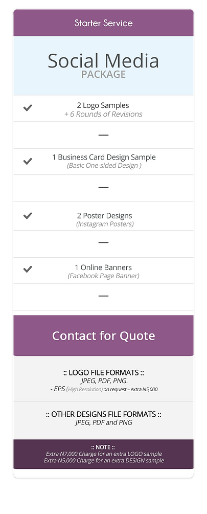 Pricing Table (Social Media Package).png