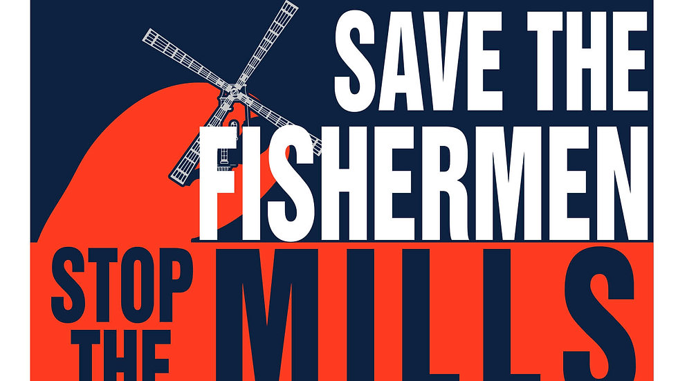 Save the Fishermen Decal