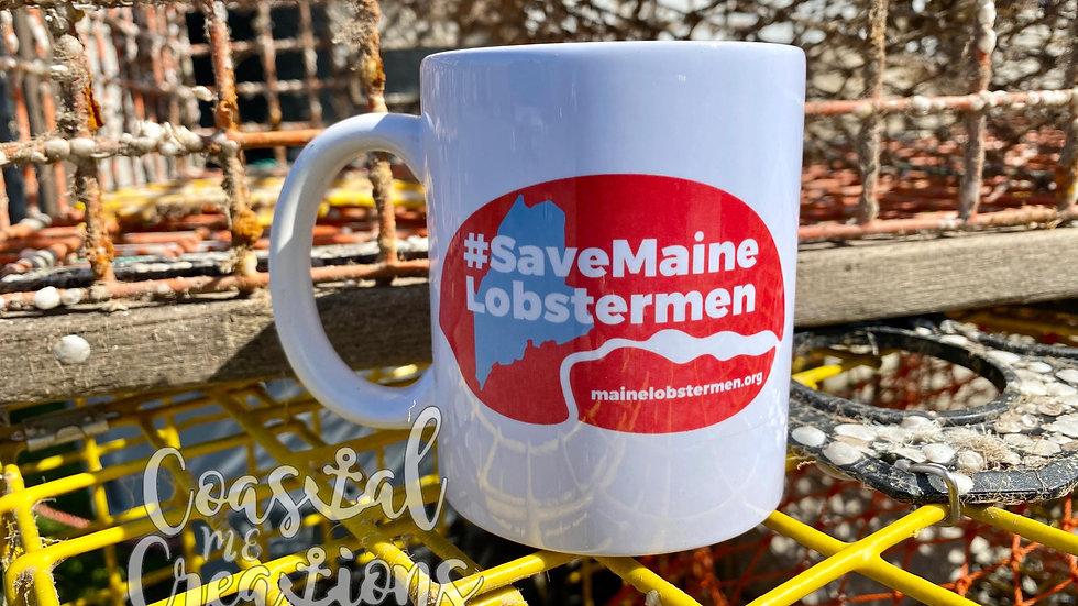 Save Maine Lobstermen Mug