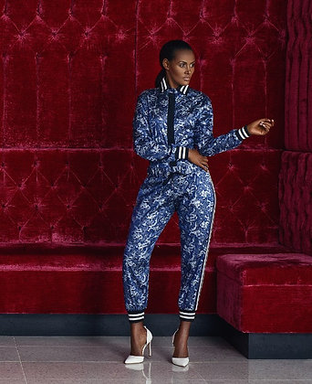 Shanghai Luxe Leisure Track Pants