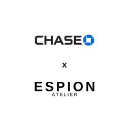 ESPION x CHASE Bank collaboration producing legacy clothing for the institution's 45,000 staff members.