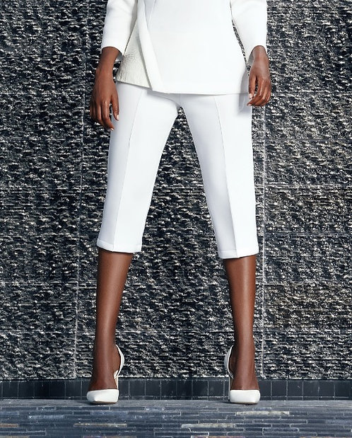 Cropped Luxe Sport Trouser Pants