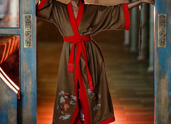 Kimono Robe Coat Dress