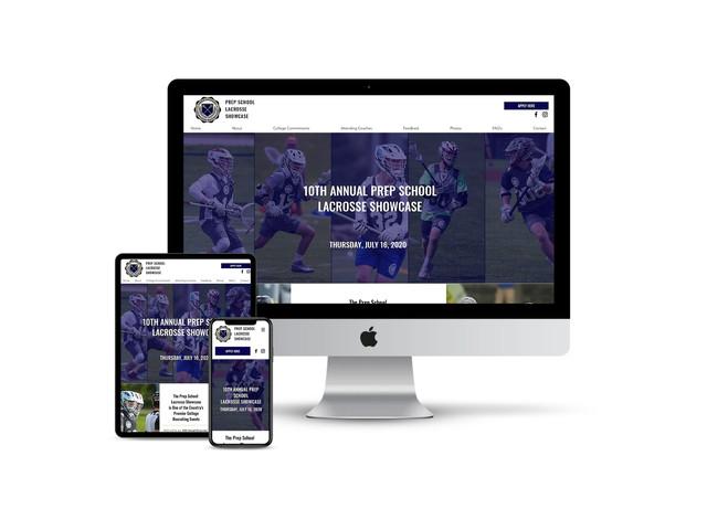 Website Design for Sports Camp