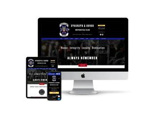 Website Design for Veteran Motorcycle Club