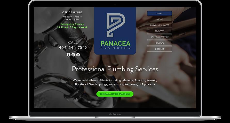 Digital Website Marketing Plumber