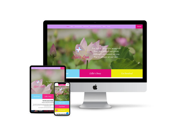 Website Design for Local Charity