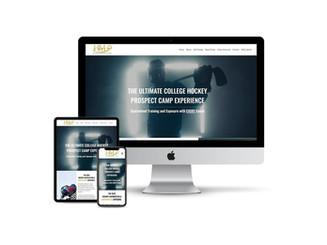 Website Design for Hockey Recruiting Camp