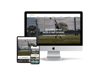 Website Design for Soccer Recruiting Camp