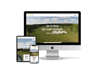 Website Design for Golf Recruiting Camp
