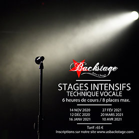 STAGE INTENSIF