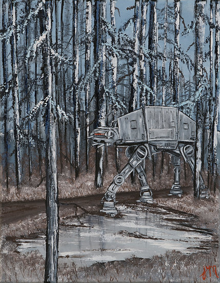 Stroll Through Endor - Art Print