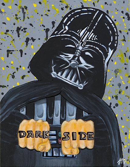 Dark Side - Greeting Card