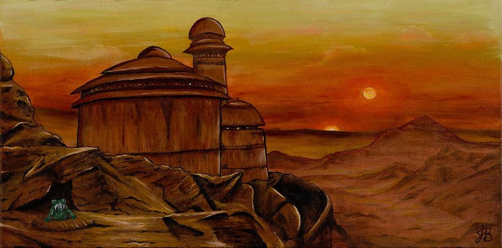 Jabba's Palace - Art Print