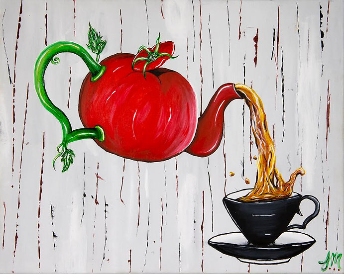 Tea Time - Art Print