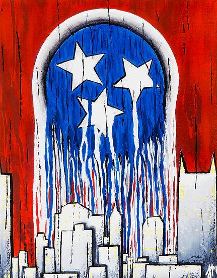 Nashville - Art Print
