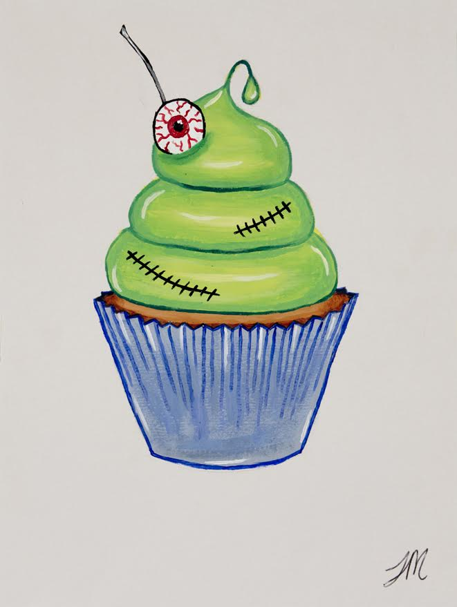 night of the living cupcake