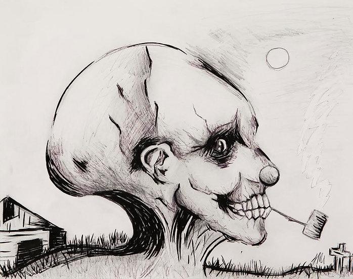 Scary Story - Art Print
