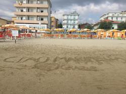 recensione sulla sabbia!