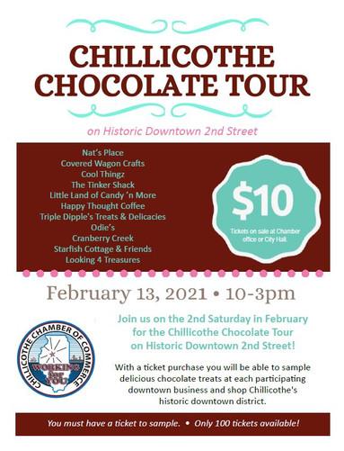 Chillicothe Chocolate Tour