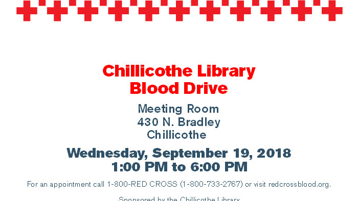 Library Blood Drive