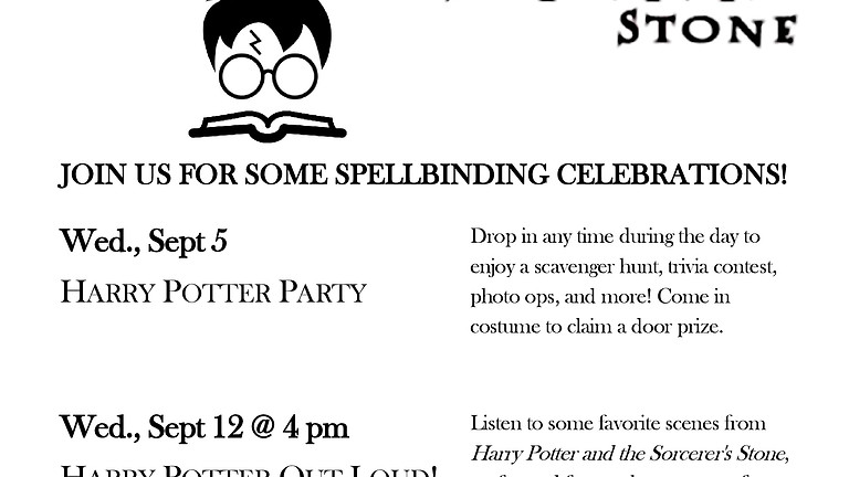 Harry Potter Party!