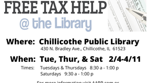 Tax Help at the Chillicothe Library