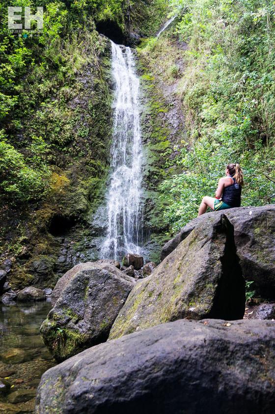 Hike Lulumahu Falls with us!