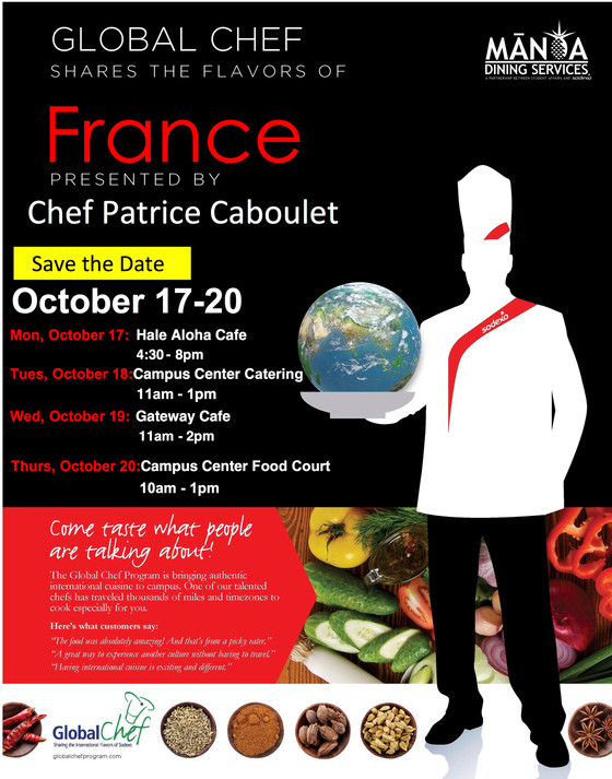 French Chef on Campus
