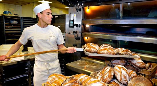 French baguette-making presentation