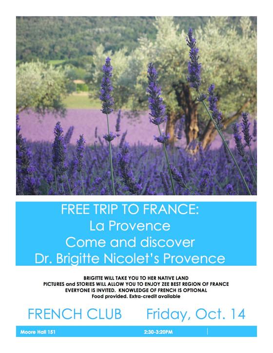 Take a trip to Provence...