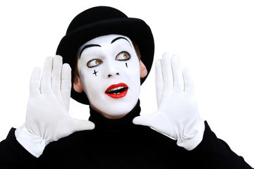French Club this Friday (October 13): Learn about the art of Mime!