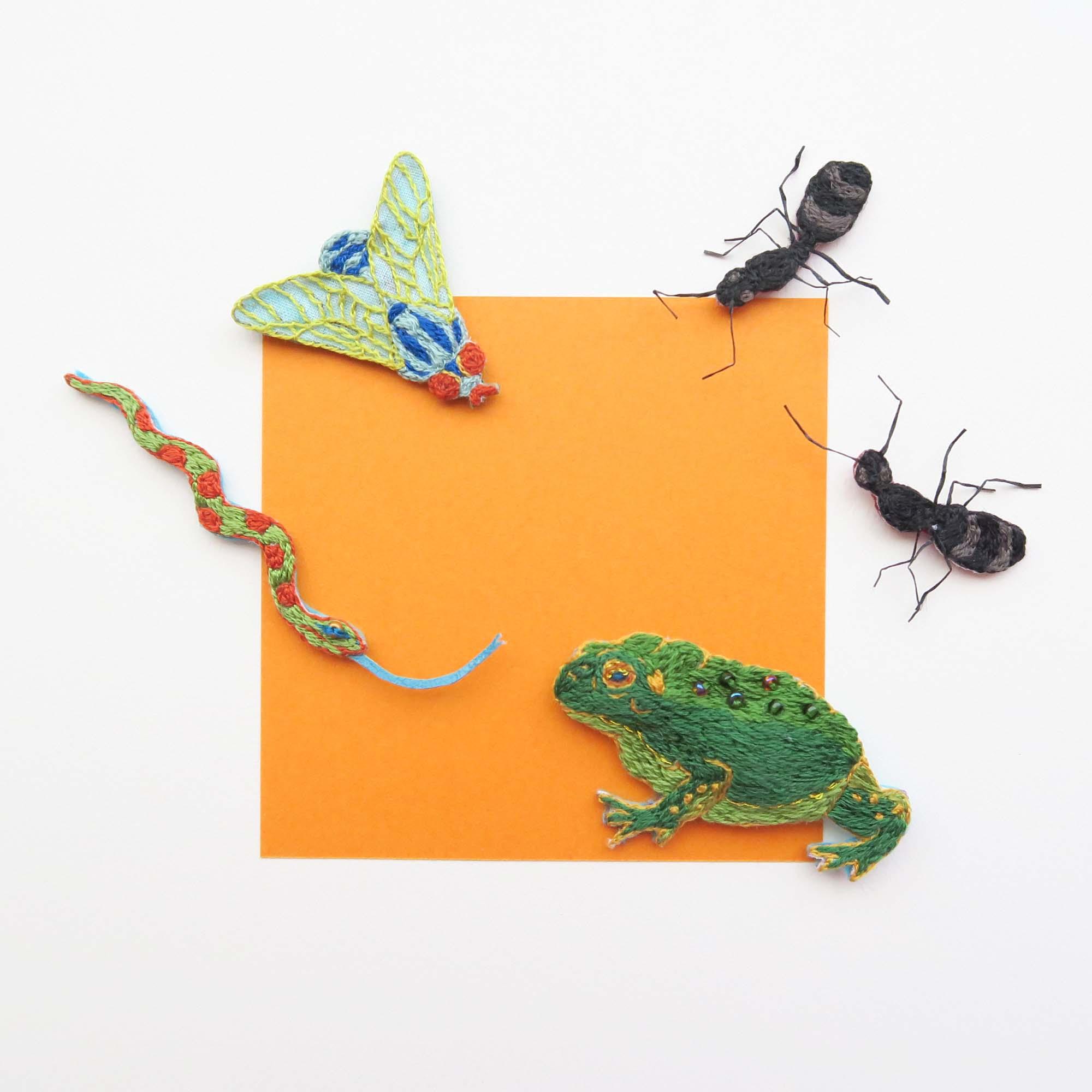 bug and reptilias