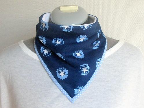 Foulard absorbant Bandana - Bleu étoiles (prix à partir de)